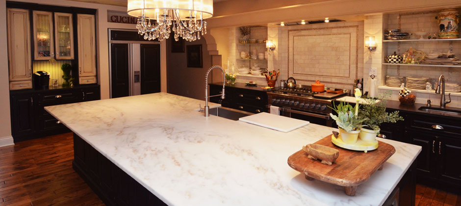 Kitchen U2013 Marble Island Countertop