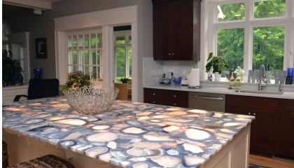 Concetto Stone Kitchen Island