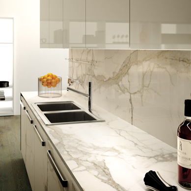 Porcelain countertops from ciot italian marble granite for Kitchen ideas with porcelain countertops